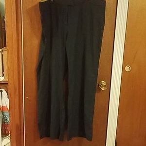 Boden westbourne wide leg trousers 18 long